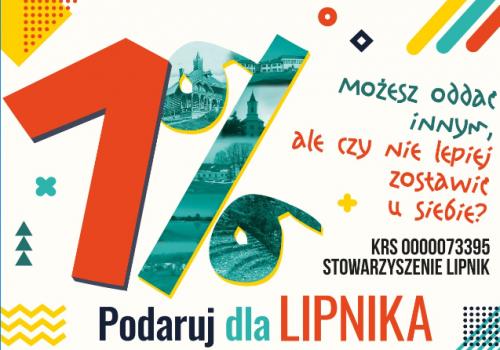 1% zostaw w Lipniku