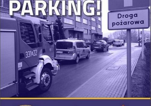 Droga pożarowa to nie parking