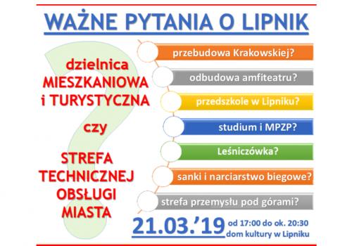 21 marca zebranie sprawozdawcze RO Lipnik