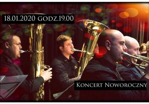 Koncert Noworoczny Orkiestry Dętej