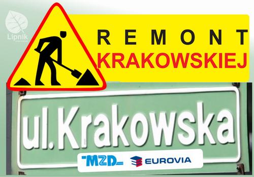 Przebudowa zjazdu Podgórna/Krakowska