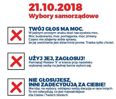 21.10 wybory prezydenta i radnych miejskich – lokale wyborcze w szkole i domu kultury